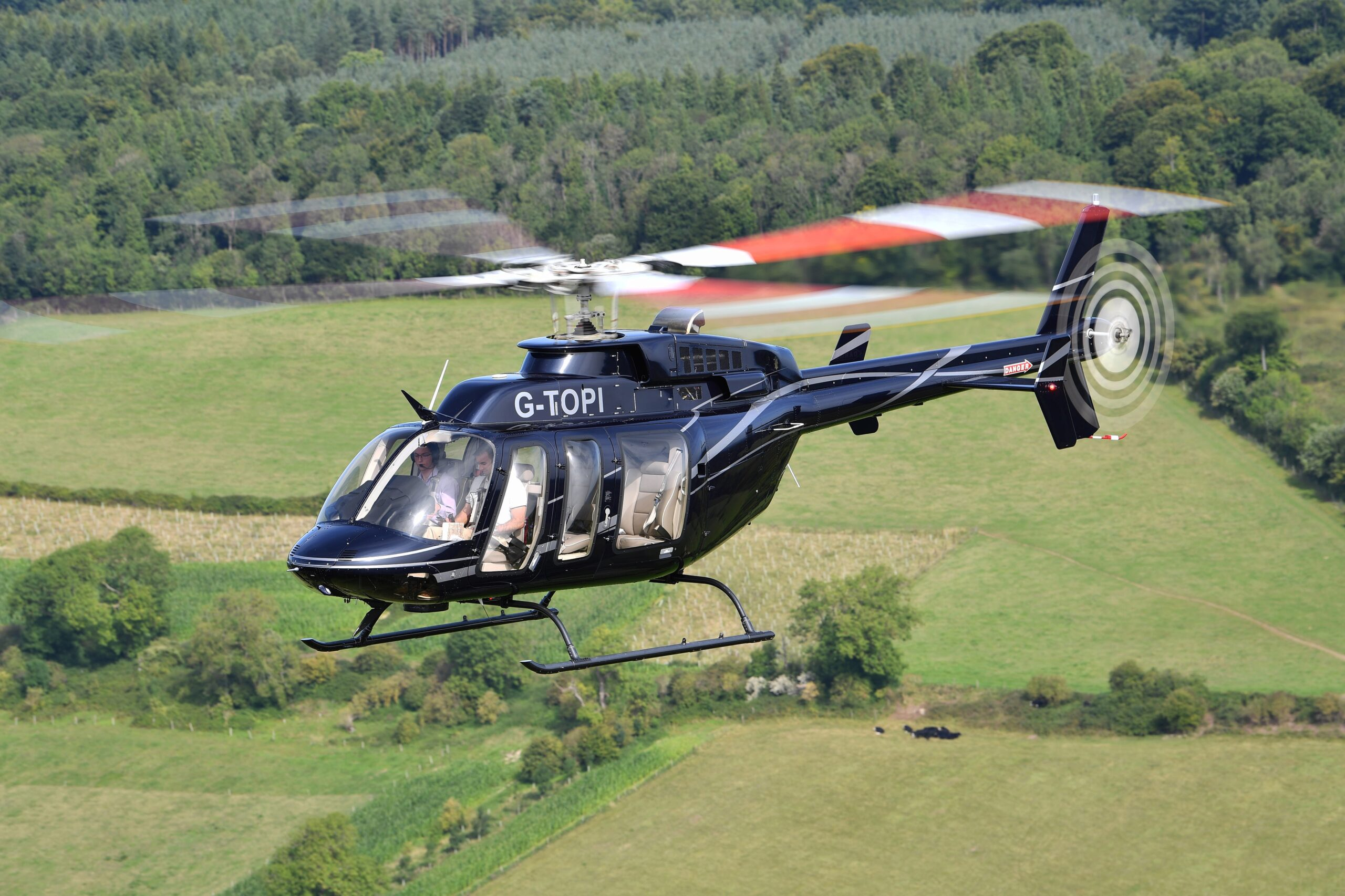 Helicopter Charter Hire Oxfordshire