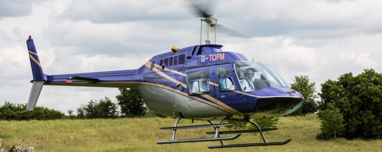 Private Helicopter Charter UK 1